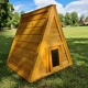 Large Triangular Hide House