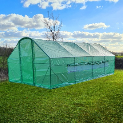 6m x 3m x 2m / 20ft Polytunnel
