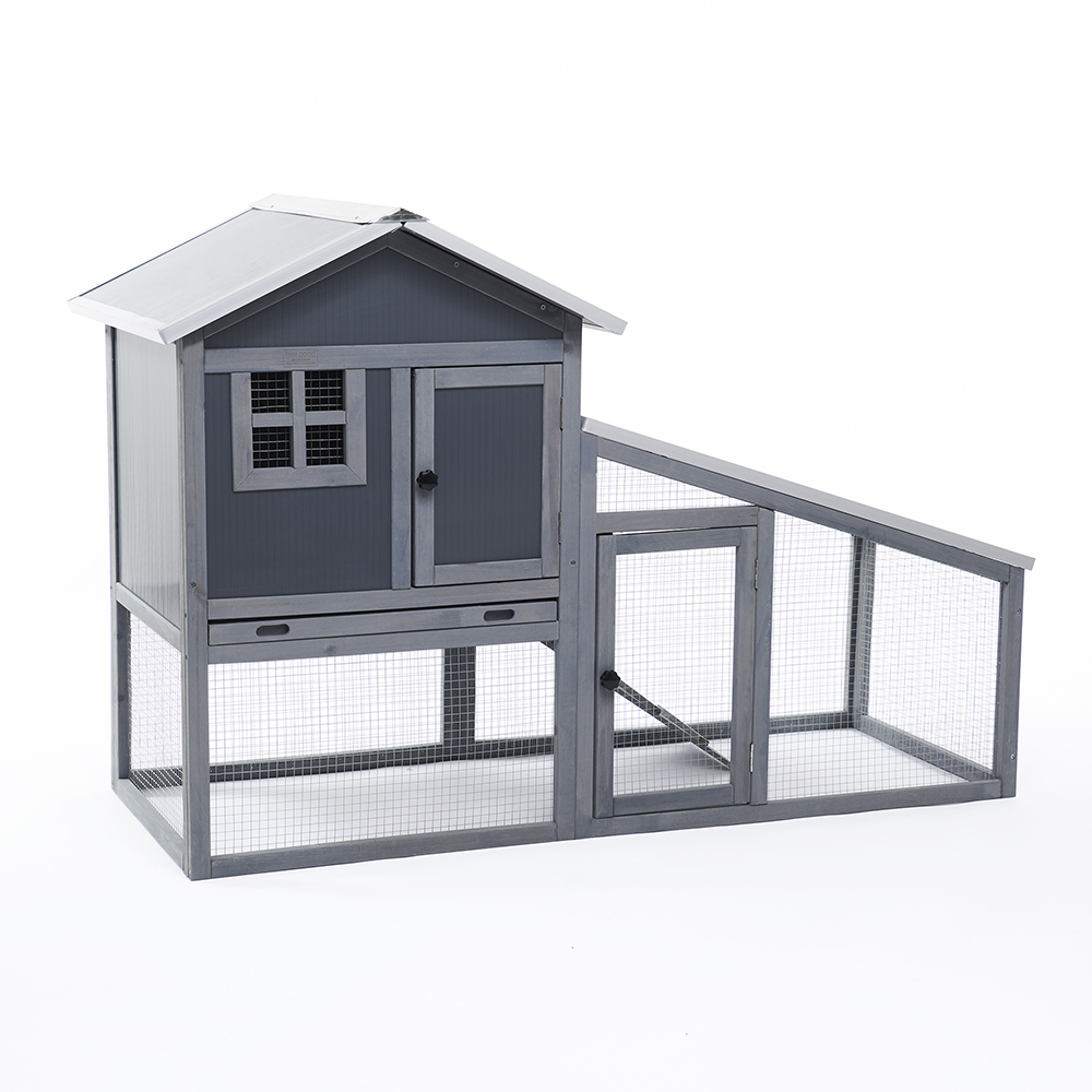 Bunny Ark Hybrid Rabbit Hutch and Run