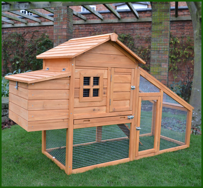 Medium Windsor Chicken Coop & Run
