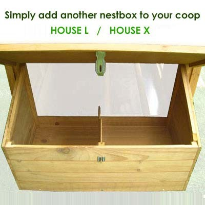 House L Extra Nestbox - Pre Order for Decembe